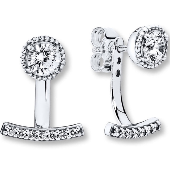 da6da64ba Pandora Jewelry | Abstract Elegance Earrings | Poshmark